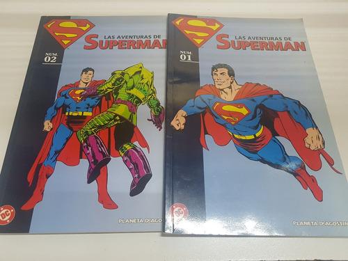 Imagen 1 de 10 de Comic Las Aventuras De Superman Tomo 1 Y 2