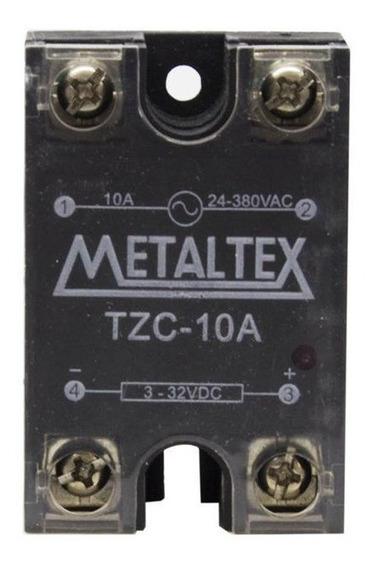 Relé De Estado Sólido Tzc-10a 380vca 4-32vcc Metaltex