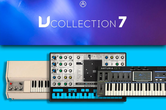 Arturia V Collection 7 Completo Win / Mac + Suporte