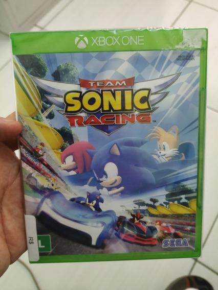 Team Sonic Racing Xbox One Mídia Física Lacrada P.entrega