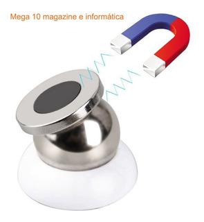 Suporte Veicular Magnético Rotação 360º P/ Celular Cód.136