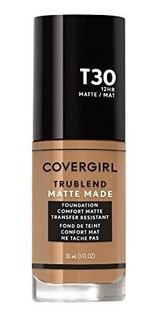 Covergirl Trublend Matte Made Liquid Foundation T30 Cálida