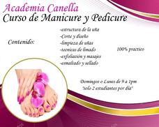 Curso De Manicure Y Pedicure 100% Practico