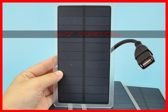 Kit Placa Solar Carregador Energia Solar 6v Usb