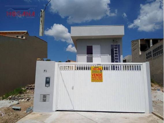 Sobrado Com 2 Dormitórios À Venda, 70 M² Por R$ 270.000,00 - Jardim Santo Antonio - Franco Da Rocha/sp - So0813