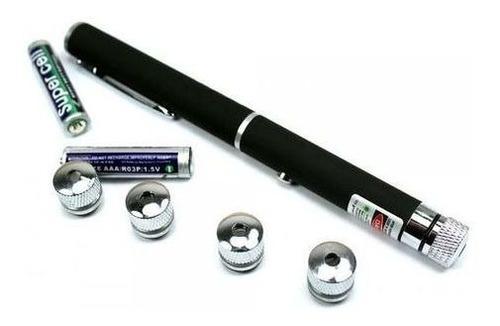 2 Caneta Laser Verde Portatil Ideal Para Professores Da Aula