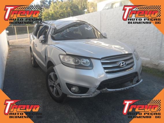 Sucata Hyundai Santa Fé 2.4 4x2 180cv 2012 Somente Peças
