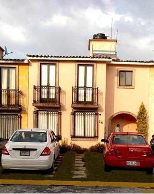 Rento Casa Semi Amueblada Valle De La Hacienda Toluca