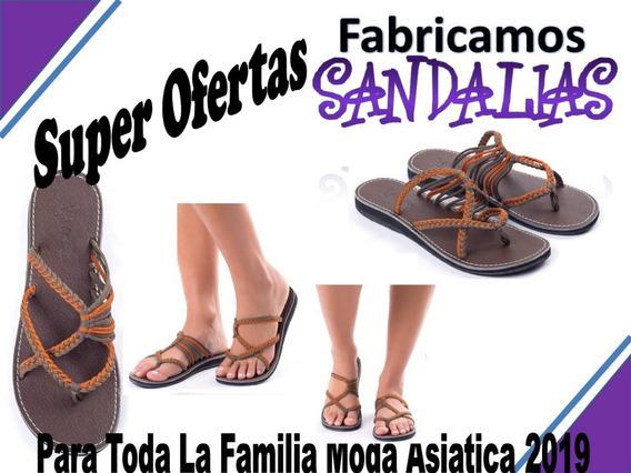 Sandalias Coleccion Asiatica 2019... Somos Fabricantes