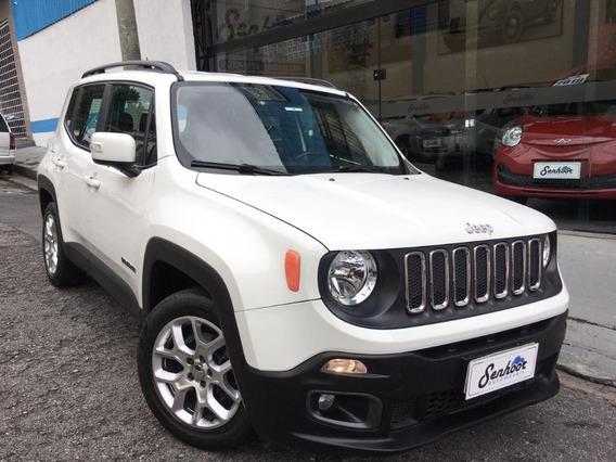 Jeep Renegade 1.8 16v Longitude Automática Branca - 2016