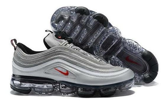 Tênis Original Nike Vapormax 97 Silver Bullet