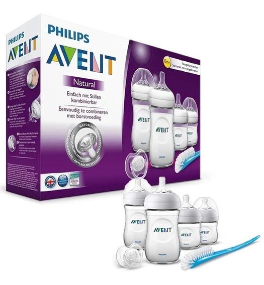 Set Recién Nacido Philips Avent 4 Mamaderas Nuevo Modelo