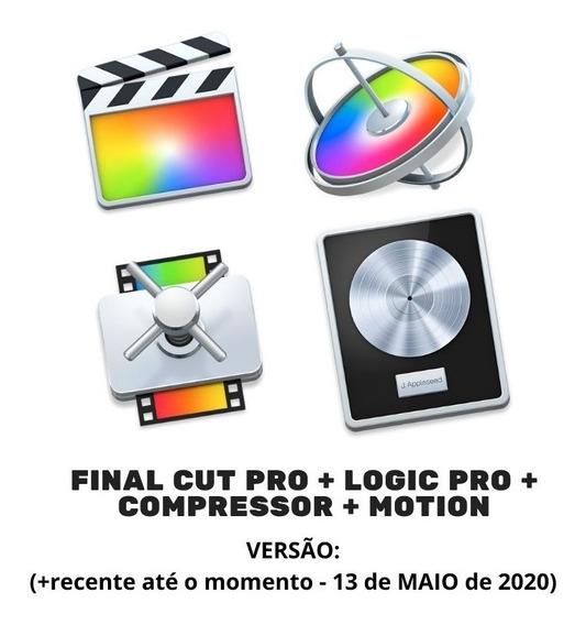 Final Cut Pro + Logic Pro + Compressor + Motion (+ Recente)