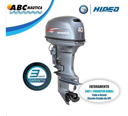 Motor De Popa 40hp Power Trim Hidea Leia Anúncio