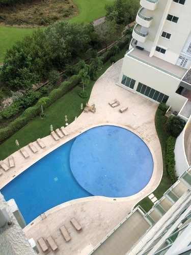 Moderno Departamento Amueblado En Puerto Cancun| 3 Rec
