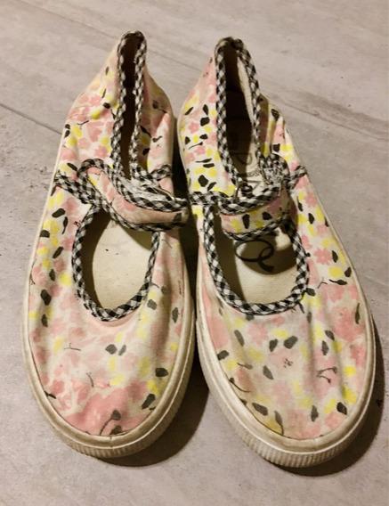Zapatos De Niña Grisino Talle 32