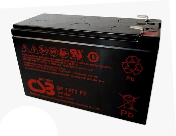 Bateria 12v 7ah Csb No Break Sms Apc Alarmes Gp1272 F2
