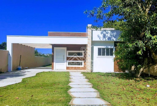 Casa Com 2 Dormitórios À Venda, 80 M² Por R$ 360.000,00 - Itaipuaçu - Maricá/rj - Ca1498