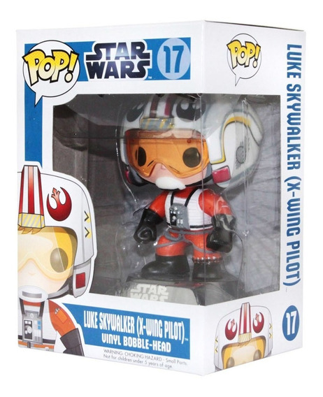 Funko Pop Luke Skywalker Pilot Pilot Star Wars Rebelion