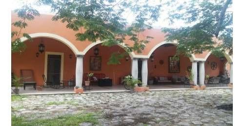 En Venta Residencia Hacienda San Juan En Hunucmá, Yucatán