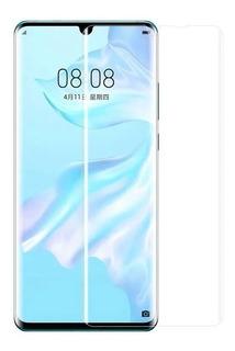 Película Vidro Curva Hd Cola Líquida Uv Huawei P30 Pro