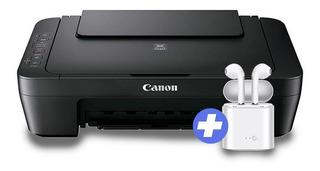 Impresora Canon Multifuncion Fotocopia Escanea + Auriculares