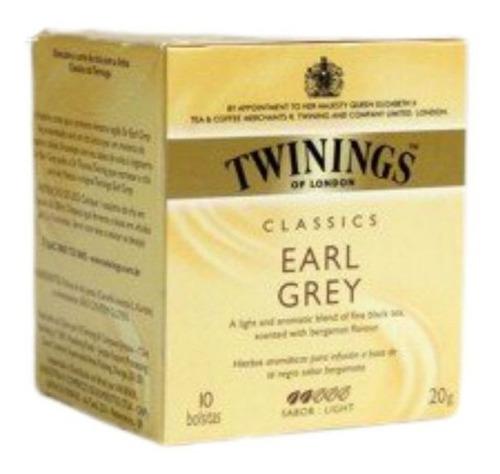 Te Twinings Earl Grey 10 Sobres
