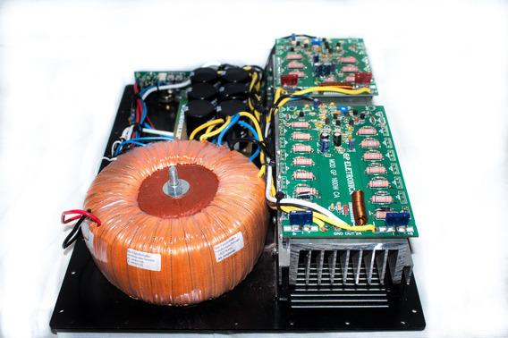 Painel Ativador De Caixa Bi-amplificada 2400w