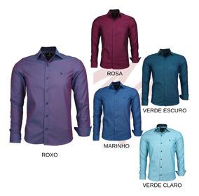 93168c3b36 Camisas Roxas - Calçados, Roupas e Bolsas com o Melhores Preços no ...