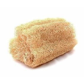 Bucha Para Limpeza De Pele 100% Vegetal 10 Unidades
