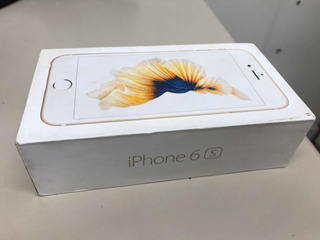 Caixa iPhone 6s Dourado 16gb Gold
