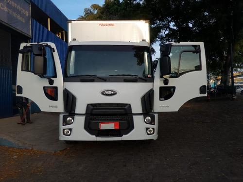 Imagem 1 de 15 de Ford Cargo 1419 Baú - Único Dono, Impecável