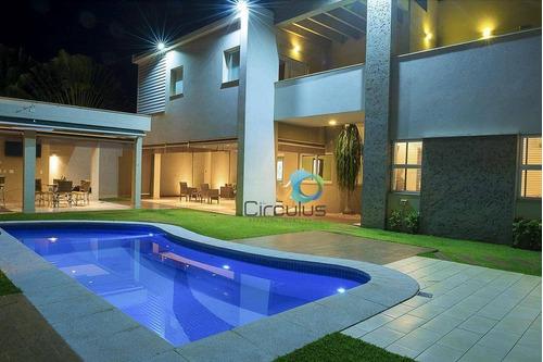 Casa Com 4 Dormitórios À Venda, 434 M² Por R$ 1.500.000,00 - Jardim Das Acácias - Cravinhos/sp - Ca1155