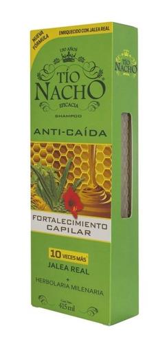 Shampoo Tio Nacho Anticaida Herbolaria Milenaria X 415ml