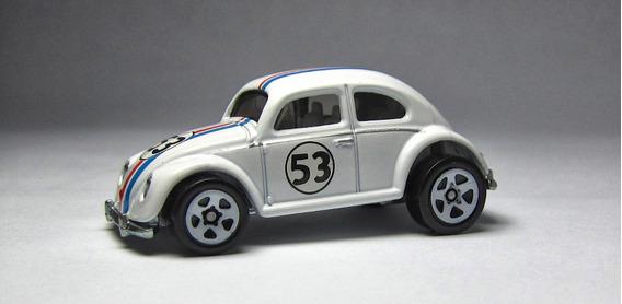 Miniatura Vw Fusca Herbie 1:64 Loose