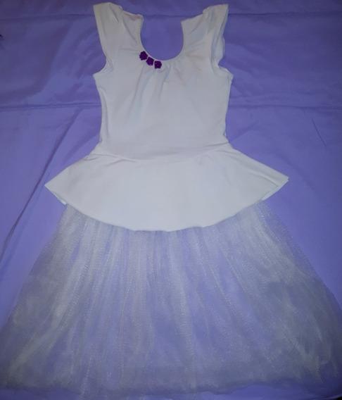 Vestido Para Danza Niñas
