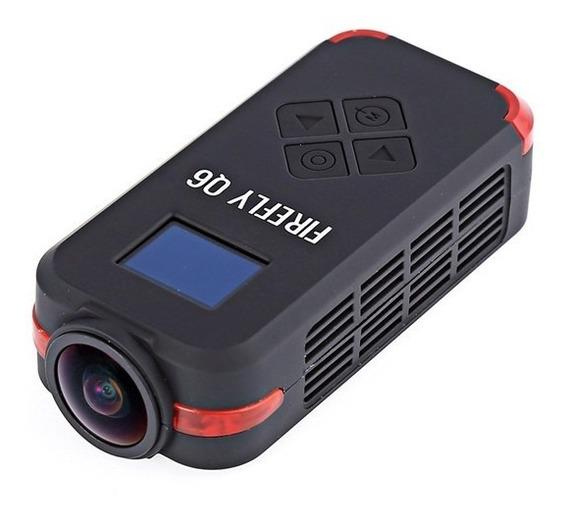 Câmera 4k Hawkeye Firefly Q6 - Preta + Card Sd 16gb