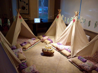 Pijama Party Carpas Teepee