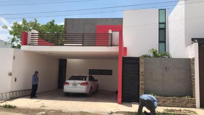 Hermosa Casa En Renta En Temozon Norte