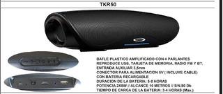 Bafle Potenciado Plast Tkr50 Sanrai Cuotas