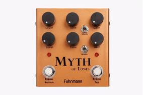 Pedal Myth Of Tones Fuhrmann Novo + Frete Grátis + Brindes
