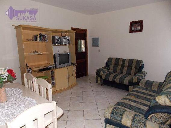 Casa Com 2 Dormitórios À Venda, 110 M² Por R$ 380.000,00 - Vila Alzira - Santo André/sp - Ca0025