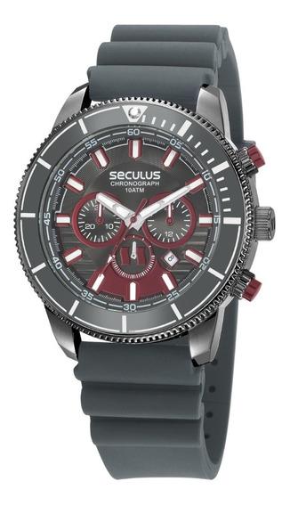 Relógio Séculus Masculino Analógico 23665gpsvsi1
