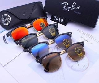 Rayban Clubmaster 3019 Originales Importados