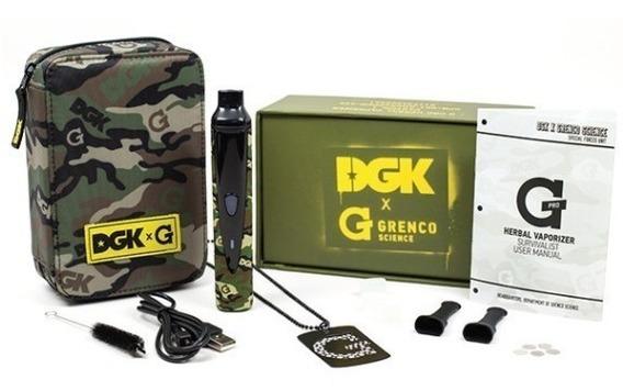 Vaporizador De Ervas G-pro Dgk X G Grenco