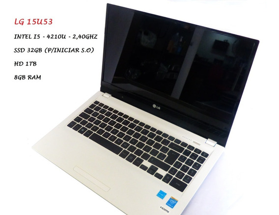 Notebook Lg15u530 I5 2,40 Ghz Hd 1tb 4gb Ram 4ºger.