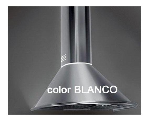 Campana Cocina Blanco Circular 60cm Tst Extractor Limay