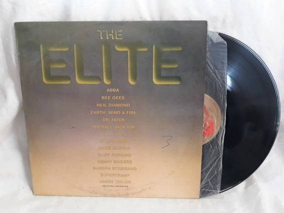 The Elite Varios Abba Bee Gees Michael Jackson| 1981 Vinilo