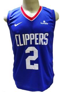 Camisa Regata La Clippers Azul Paul George