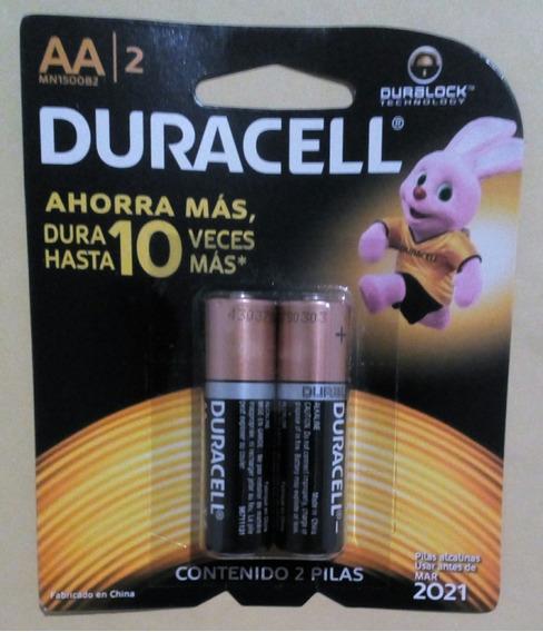 Pilas Bateria Aa Aaa Duracell Alkalinas Blister De 2 Pilas